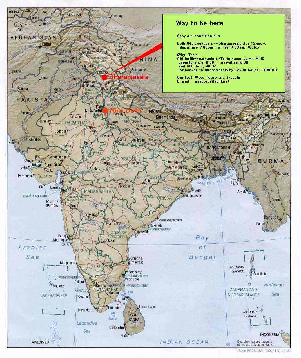 Himalaya India Map.Way To Be Here Subbody Butoh Dance Workshop School Himalaya